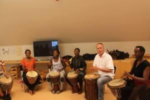 Sagohuset_Drumming Workshop_Aug 2014